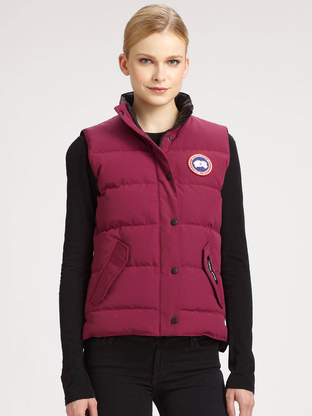 ... promo code for lyst canada goose freestyle vest in purple 7c196 00f1e  get canada goose womens ...