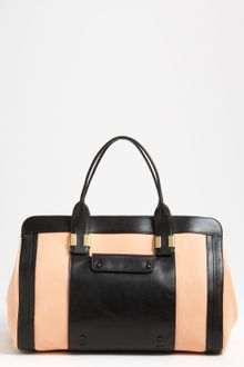 Chloé Alice Large Leather Tote - Lyst