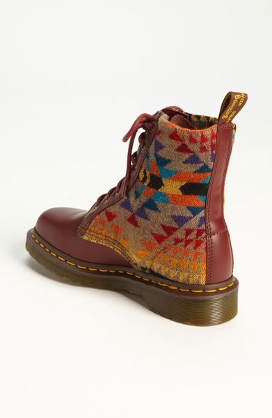 Dr Martens Pendleton For Boot In Brown Cherry Lyst