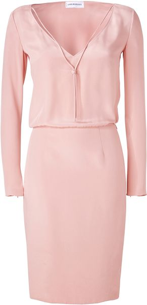 Emilio Pucci Colonial Rose Silk Dress - Lyst