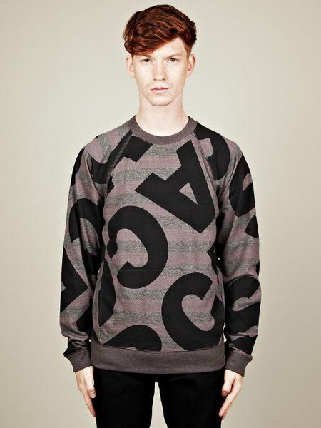 Marc By Marc Jacobs Marc By Marc Jacobs Mens Marc Sweatshirt in Gray for Men (grey)