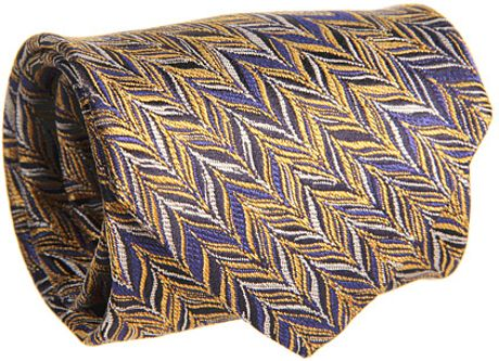 Missoni Feathered Zigzag Tie in Multicolor (y) - Lyst