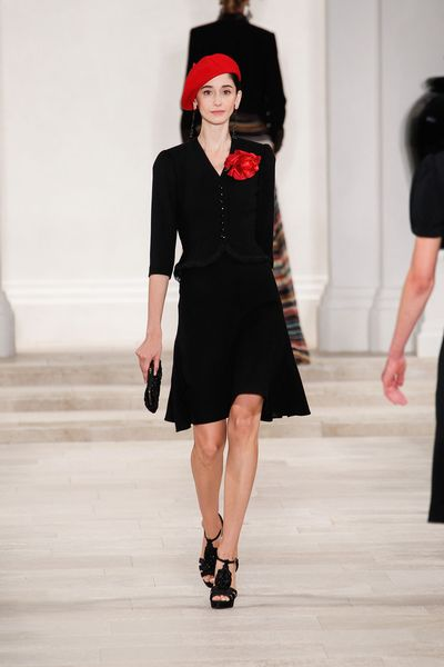 Ralph Lauren Spring 2013 Runway Look 20 in  - Lyst