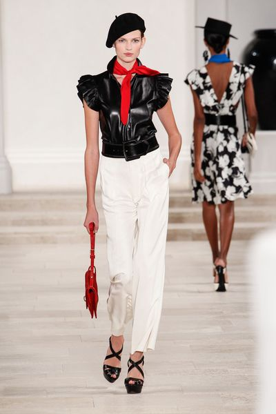 Ralph Lauren Spring 2013 Runway Look 30 in  - Lyst