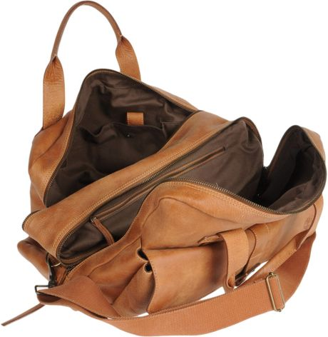 Timberland Travel Duffel Bag In Brown Lyst