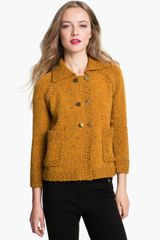 Tory Burch Ida Double Breasted Cardigan - Lyst