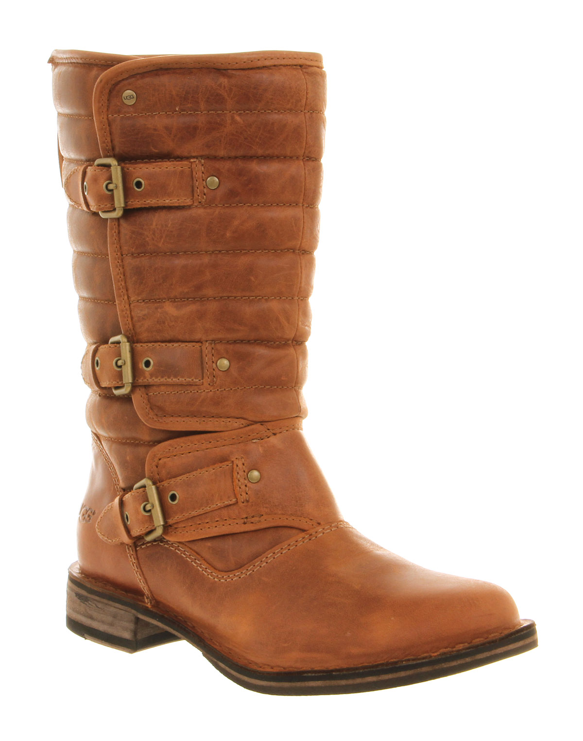 chestnut leather uggs