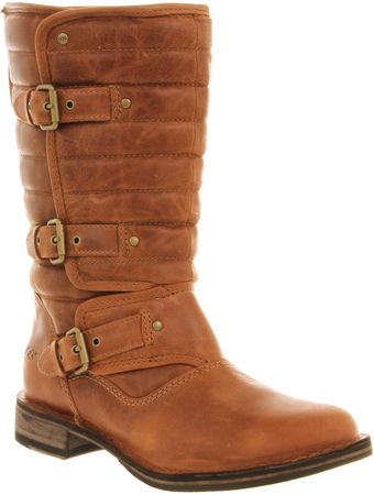 Ugg Tatum Calf Boot Chestnut Leather - Lyst