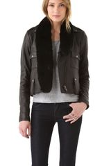 Veda Empire Leather Jacket - Lyst
