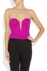 Willow Stretchjersey Corset Bodysuit in Purple (magenta) - Lyst