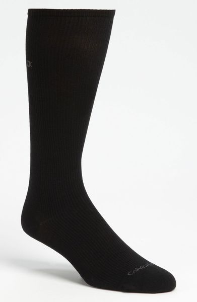 Calvin Klein Ultra Fit Compression Travel Socks in Black for Men - Lyst