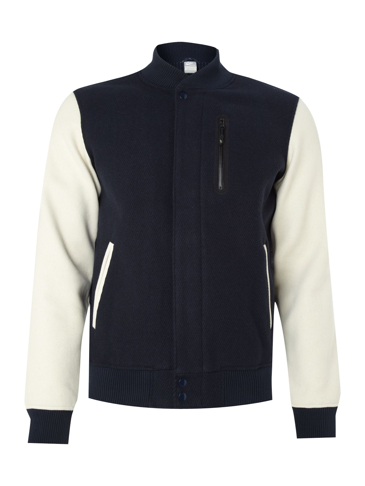 Cotton Bomber Jacket Mens