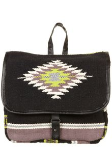 Topshop Aztec Blanket Backpack Satchel - Lyst