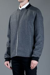 Balenciaga Square Neck Jacket in Gray for Men (grey) - Lyst
