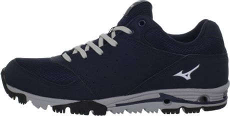 Mizuno Mizuno Mens Mizuno Compete Turf Shoe in Blue for Men (navy/grey