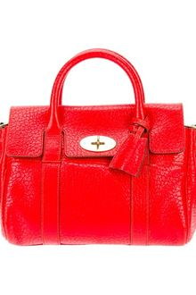 Mulberry Small Bayswater Leather Bag - Lyst