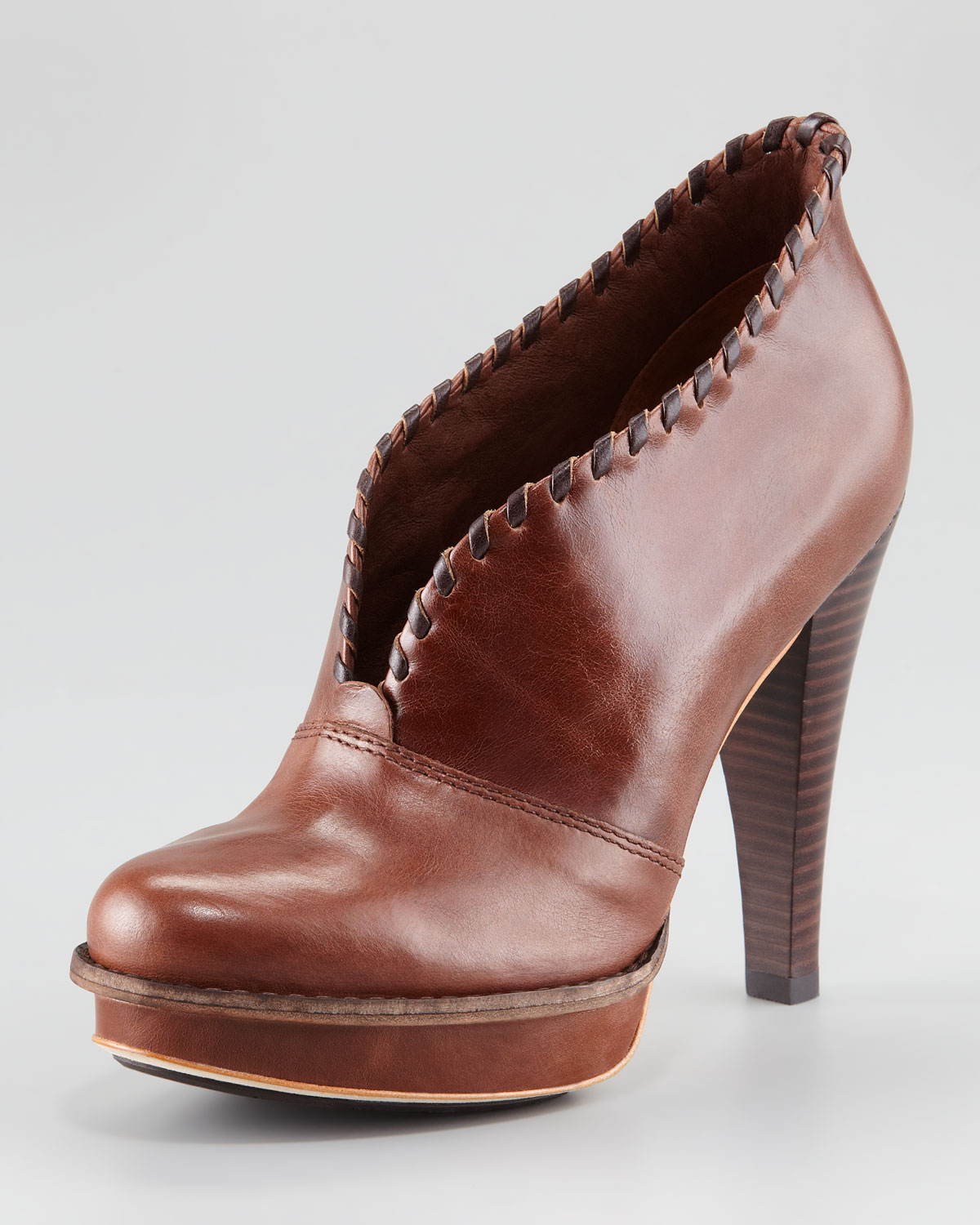 8c55c2e4d UGG Jamison Leather Ankle Boot in Brown - Lyst