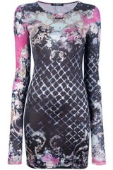 Balmain Floral Dress in Floral - Lyst