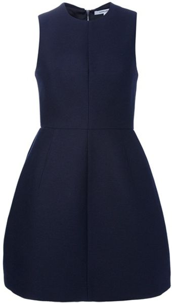 Carven Ottoman Dress - Lyst