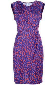 Diane Von Furstenberg Patterned Dress - Lyst