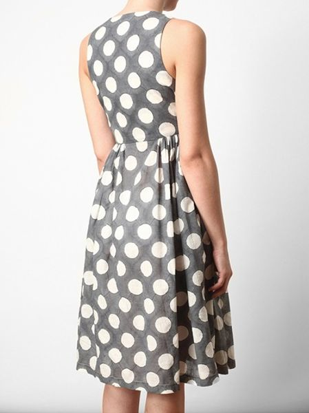 You searched for: gray polka dot dress! Etsy is the home to thousands of handmade, vintage, and one-of-a-kind products and gifts related to your search. Blue-gray with white polka dot linen dress, short sleeve, knee length loose linen dress, collar dress, linen summer dresses with pockets. Vizilinen $ Favorite.
