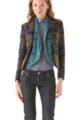 DSquared2 Double Deany Blazer with Cold Vest - Lyst