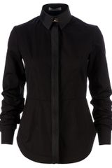 Givenchy Long Sleeve Shirt in Black - Lyst