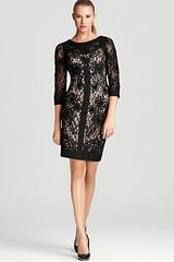 Sue Wong Dress Lace - Lyst