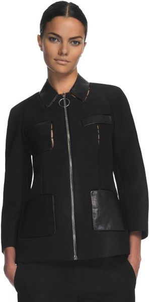 Alexander Wang Zipper Tailored Jacket - Lyst