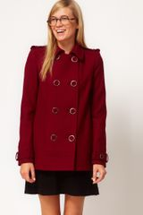 ASOS Collection Asos Pea Coat - Lyst