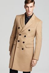 Burberry Grovsner Double Breasted Coat - Lyst