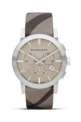 Burberry Tan Strap Watch 42mm - Lyst