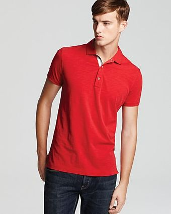 Burberry Brit Polo - Lyst