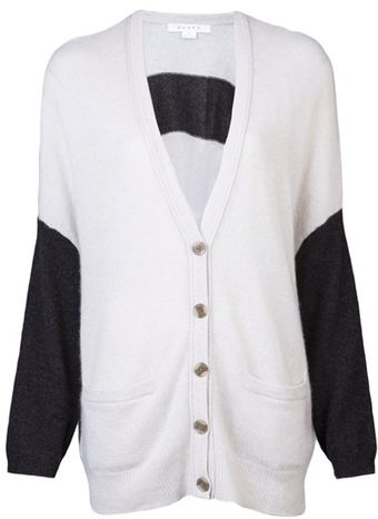 Duffy Stripe Back Cardigan - Lyst