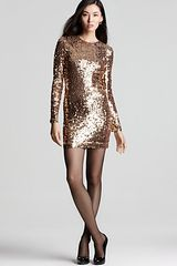 French Connection Sequin Dress - Lyst