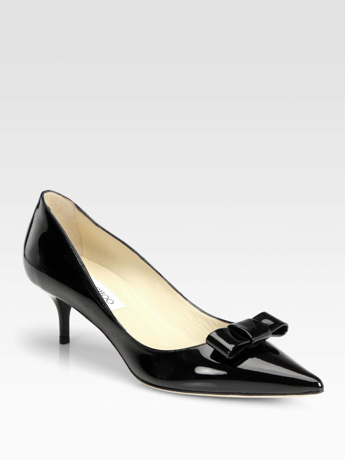 Jimmy Choo Black Patent Shoes