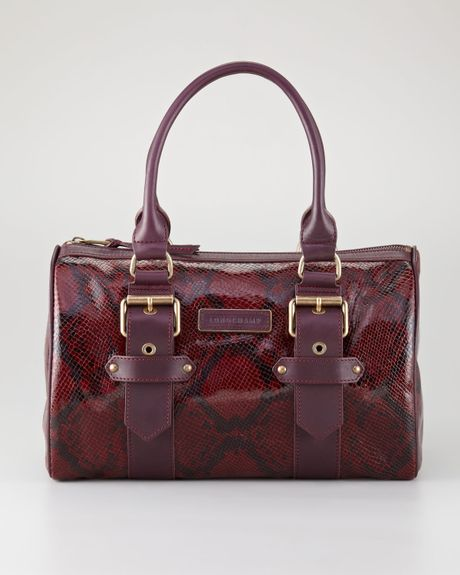 Longchamp Kate Moss For Longchamp Duffel Bag Bordeaux in ...