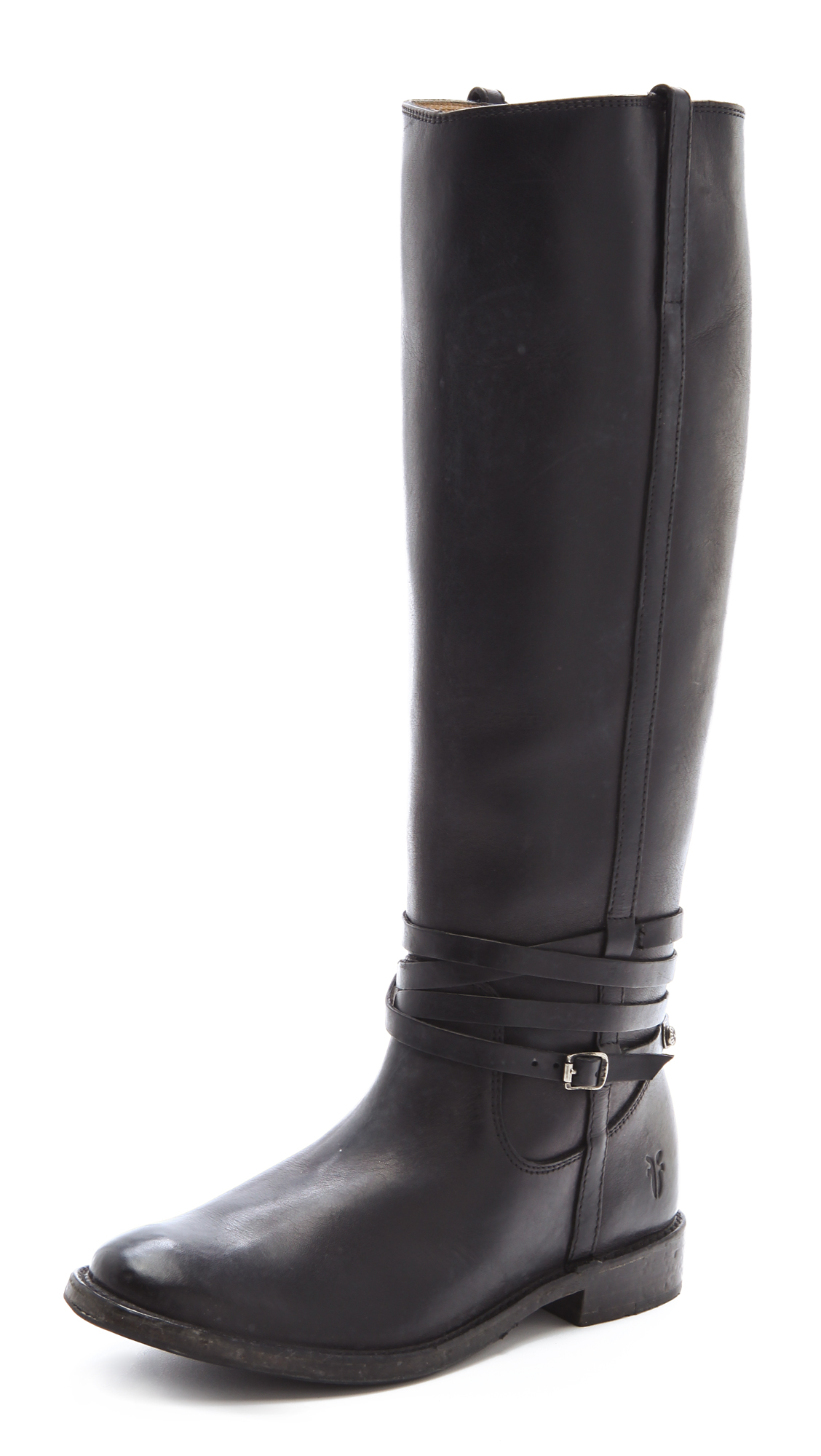 frye shirley boots with plate in black lyst