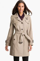 Gallery Single Breasted Trench Coat - Lyst