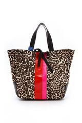 Juicy Couture Leopard Haircalf Tote - Lyst