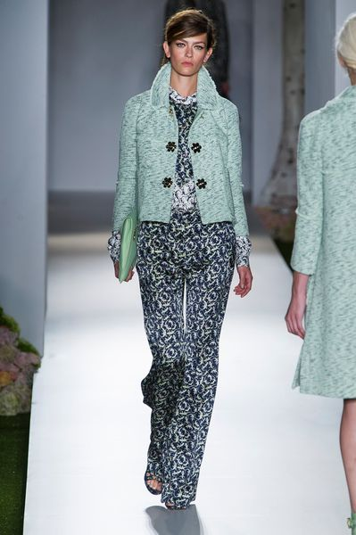 Mulberry Spring 2013 Runway Look 20 in  - Lyst