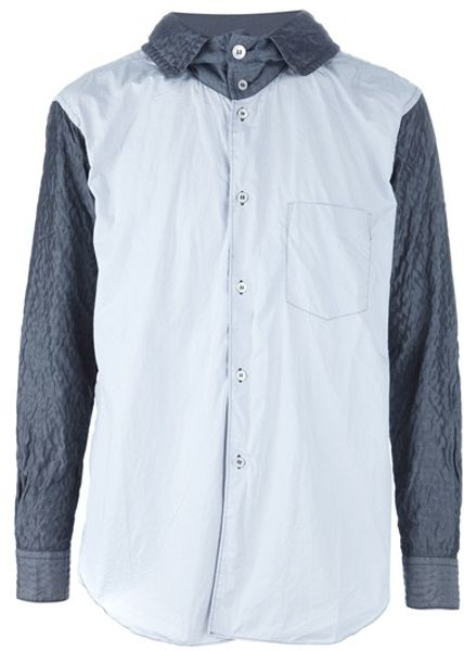 Comme Des Garçons Hooded Jacket in Gray for Men (grey) - Lyst