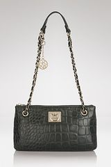 DKNY Convertible Shoulder Bag Croco - Lyst