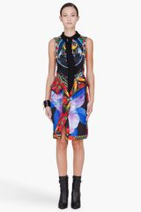 Givenchy Multicolor Floral Print Polo Dress in Multicolor - Lyst