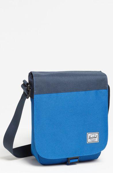 ... Supply Co. Ridge Small Messenger Bag in Blue for Men (cobalt navy