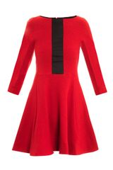 Marc By Marc Jacobs Blythe Doublewool Crepe Dress - Lyst