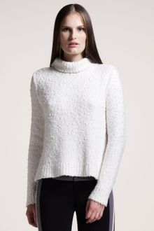 Rag & Bone Christina Textured Turtleneck - Lyst