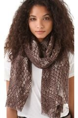 Marc By Marc Jacobs Dragon Scale Scarf - Lyst