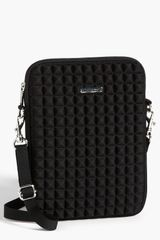 Rebecca Minkoff Pyramid Stud Ipad Crossbody Bag - Lyst