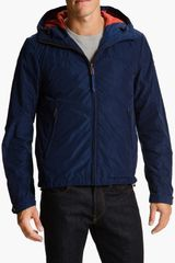 Scotch & Soda Hooded Windbreaker - Lyst